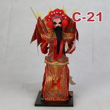 C-21 China Peking Oper chinesisch Puppe Figur Seide 31 cm Neu Geschenkidee OVP