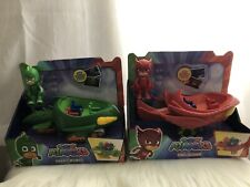 Lot 2 NEW PJ Masks Toys Gekko-Mobile/Owl Glider Quad Vehicles NEW