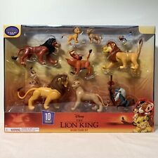 Disney The LION KING 10 Piece Deluxe Character Set Discontinued-Brand NEW in Box