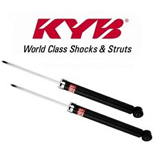 Audi A4 Quattro 2009-2013 Pair Set of 2 Rear Shock Absorbers KYB Excel-G 349133