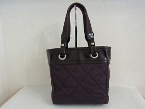 Auth WQ29 CHANEL PARIS BIARRITZ tote bag junk with serial seal from Japan