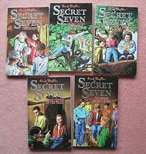 The Secret Seven vintage set Enid Blyton books 1-5 1992 Knight