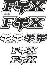 Planche stickers FOX - PL007
