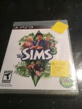 THE SIMS 3 Sony PlayStation 3 2010  Brand New Factory Sealed