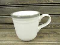 Sierra Twilight by Noritake Mug Stoneware Gray & Brown Band b222