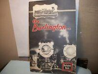 1933 Souvenir Booklet Chicago Burlington Quincy Railroad Century Progress Expo