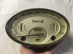 1934 Hudson Terraplane Speedometer Cluster