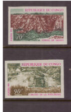 Congo (Brazzaville) MNH 1970 Tourism Nature set imperf. mint stamps