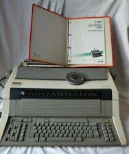 machine à ecrire CANON AP 800, mode d emploi, marguerite, format A3 fonctionne