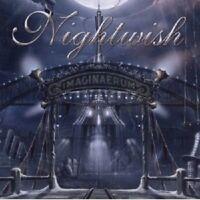 "NIGHTWISH ""IMAGINAERUM"" 2 LP BLACK VINYL SYMPHONIC METAL NEW+"