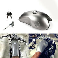 Brand New 10L Cafe Racer Iron 2.6 Gallon Gas Fuel Tank for Suzuki Honda Yamaha