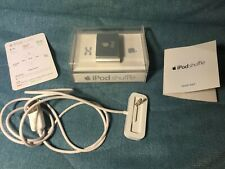 Apple iPod Shuffle with Dock 2nd Generation Silver 1 GB A1204 MB518LL/A Tested!