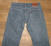 """ LEVI`S 514 SLIM STRAIGHT "" JEANS / LEVIS Blue- Jeans in blau in W34"" /L32"""