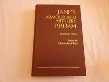 Jane's Armour and Artillery, December, 1993-94 by C. Foss 1993 Hardcover  EUC