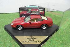 JAGUAR XK8 Coupé rouge metallic carnival red 1/43 VITESSE V101A voiture miniatur
