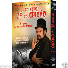 DVD Ze do Caixao Zé do Caixão Collection / Coffin Joe Collection - Region FREE