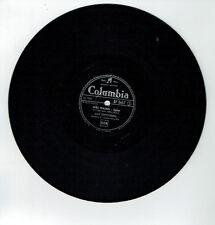 78T Jean BRETONNIERE Vinyle Phono MES MAINS - LA CAMPANELLA - COLUMBIA 3457 RARE