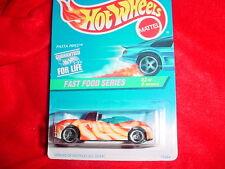 Hot Wheels #417 Pasta Pipes 3 Spoke Rims Fast Food Series Free Usa Shipping