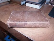 1852  THE MAINE TOWNSMAN  Leather  Laws For Regulation Of Towns By John P. Lord