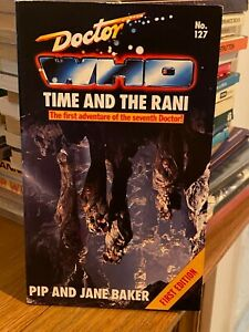 doctor who target book -  TIME AND THE RANI - 1st edition