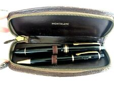 Vintage Montblanc 144 OBB 14k 4810 Meisterstuck Fountain Pen & Pencil Set 50`s
