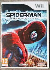 Spider-man Edge Of Time Wii Juego Nuevo y Sellado Reino Unido Original NINTENDO