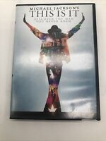 Michael Jackson's This Is It (DVD) Movie