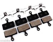 Plaquettes SHIMANO DEORE M615, XT M785, SLX M666, XTR M985 resin pads sport EX