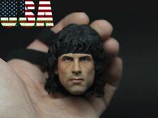 "1/6 Sylvest Stallone Head For 12"" PHICEN Ganghood WorldBox Hot Toys Figure ❶USA❶"