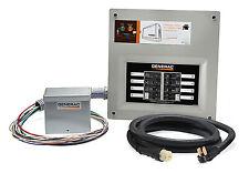 Generac 6853 Manual Transfer Switch Kit, Indoor NEMA1 Enclosure, 30-Amp -