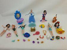 Polly pocket Disney Cinderella,  snow white others Dolls , accessories
