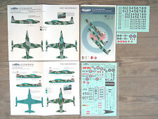 """CT-133 SILVER STAR """"5 CAF"""" CANUCK DECALS 1/48"""