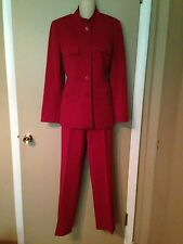 HUGE VERTIGO PARIS, LADIES RED COLOR, SUIT MADE IN FRANCE size MEDIUM