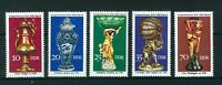 East Germany 1976 Historical Handicraft full set of stamps Mint. Sg E1885-E1889