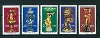 East Germany 1976 Historical Handicraft full set of stamps Mint. Sg E1885-E1889