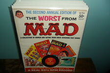 Mad Magazine-The Worst from Issue #2 (1958)Feldstein,Wood,Orlando Complete Issue
