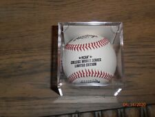 Pro Graphs Ncaa Limited Edition 2012 College World Series Baseball Rare 1 Of 500