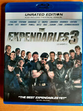 The Expendables 3 (Blu-ray 2014) Unrated Edition Stallone FORD STATHAM CREWS LN