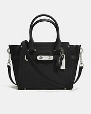 COACH 💟 Swagger 21 💟 Black Pebble leather bag 💟 BNWT💟 FLASH SALE! 💗 20% OFF