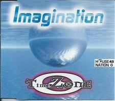 TIME ZONE - Imagination CDM 5TR Euro House 1996 (Dance Street)