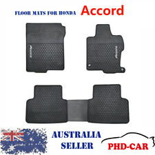 Premium Quality Honda Accord Gen9 Tailored All Weather Rubber Car Floor Mats