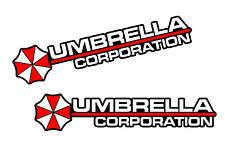 4 x Umbrella Corporation Hive Die Cut Logo Resident Evil Vinyl Decal Sticker JDM
