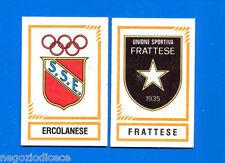 CALCIATORI PANINI 1982-83 - Figurina-Sticker n. 594 - ERCOLANESE#FRATTESE -Rec