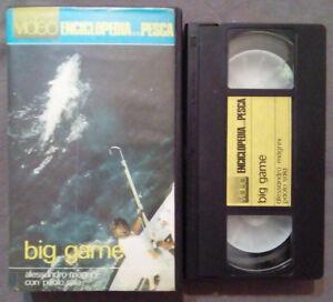 VHS Film Ita VIDEOENCICLOPEDIA DELLA PESCA Big Game no dvd ex nolo no dvd (V46)