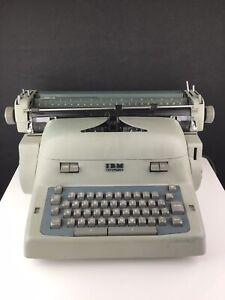 Vintage 1950's IBM Electric Typewriter Model 11C With Service Manual
