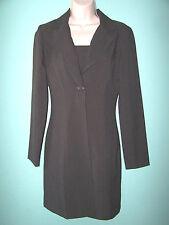 BREAKIN' LOOSE Womens Elegant Gray Dress + Jacket Suit Size 3/4 (NWOT)
