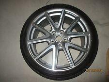Aston Martin OEM V8 Vantage 19x8.5 Front Graphite Wheel w/ Bridgestone Tire