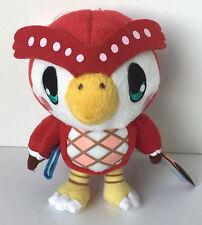 "Rare Animal Crossing 7"" CELESTE FUKO Owl Plush Banpresto Game Stuffed Figure"