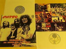 PATTO-bbc sessions and rar tracks-1970-71-2 LP´s lim.edit.