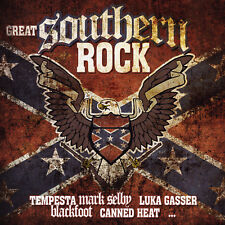 CD GREAT SOUTHERN ROCK D'Artistes Divers